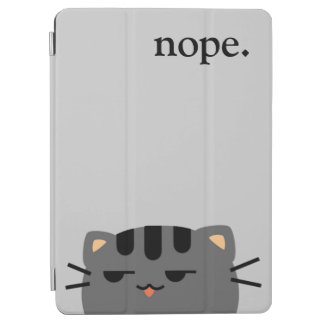 Nope Kitty iPad Air Cover