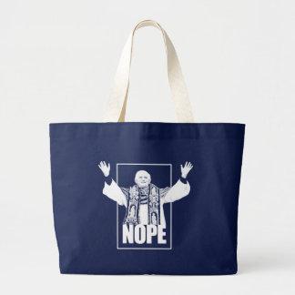 NOPE LARGE TOTE BAG