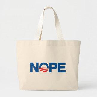 Nope Obama Bags