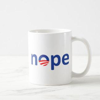 Nope Obama Coffee Mugs