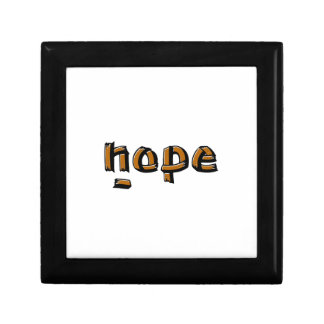Nope Small Square Gift Box