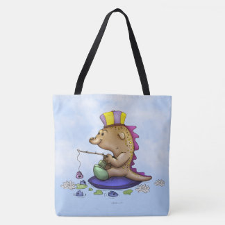 NOPNOP ALIEN MONSTER ALIEN CARTOON TOTE BAG