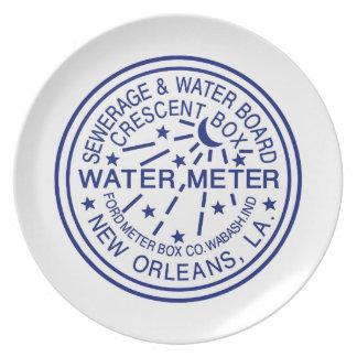 NOPSI Water Meter Plate