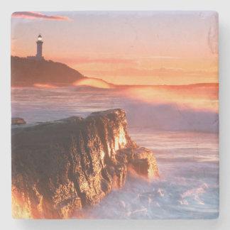 Norah Head Lighthouse | Soldiers Beach, Australia Stone Coaster