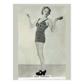 Norah Henderson Postcard