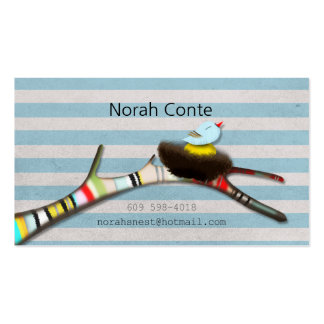 Norah's Nest Pack Of Standard Business Cards