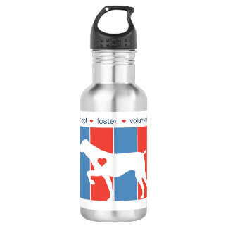 NorCalGSPRescue Striped Logo Water Bottle 532 Ml Water Bottle