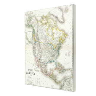 Nord America - North America Gallery Wrap Canvas