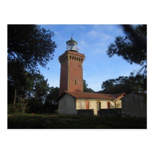 Nord Hourtin Lighthouse France Postcard