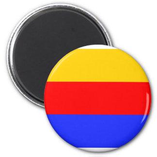 Nordfriesische, Germany 6 Cm Round Magnet