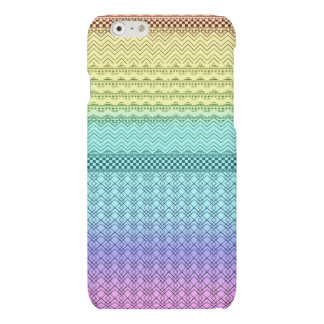 Nordic Boho Bohemian Tribal Rainbow Unique Aztec iPhone 6 Plus Case
