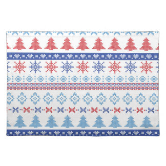 Nordic Christmas Pattern 2 Placemat