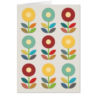 Nordic Flowers Papercut Style