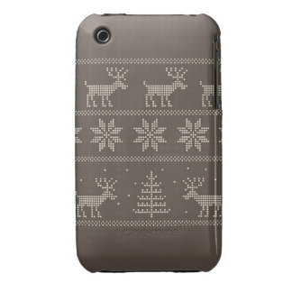 Nordic pattern iphone 3 case