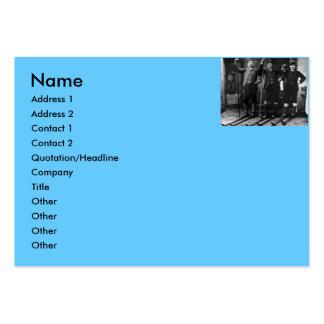 Nordic Ski Club - Vintage Large Business Cards (Pack Of 100)
