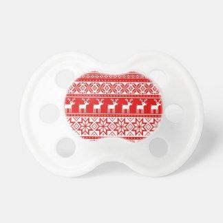 Nordic Snowflake Reindeer Ugly Christmas Sweater Dummy