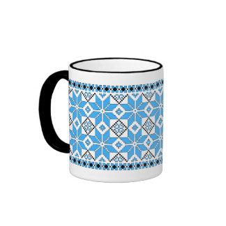 Nordic Star Mug (blue and black)