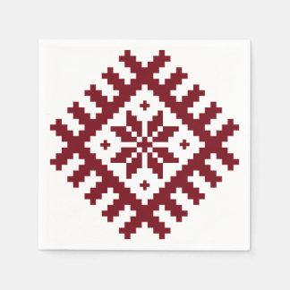 Nordic star paper serviettes