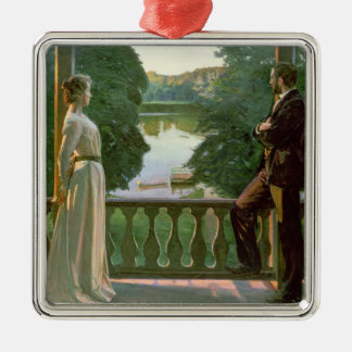 Nordic Summer Evening, 1899-1900 Christmas Ornament