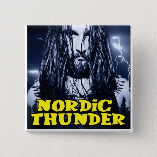 Nordic Thunder 15 Cm Square Badge