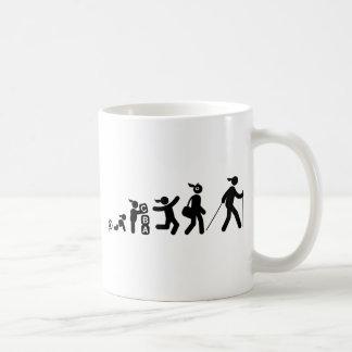 Nordic Walking Basic White Mug