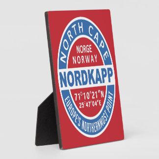 NORDKAPP Norway plaque