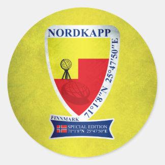 Nordkapp Round Sticker