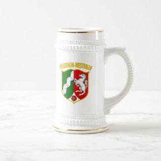 Nordrhein-Westfalen COA Beer Steins