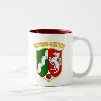 Nordrhein-Westfalen COA Two-Tone Mug