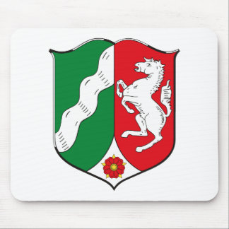 Nordrhein Westfalen Coat of Arms Mousepad