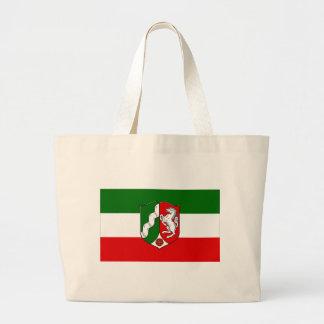 Nordrhein-Westfalen Flag Canvas Bags