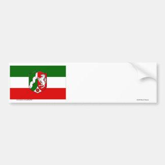 Nordrhein-Westfalen Flag Bumper Sticker