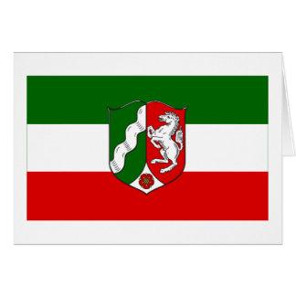 Nordrhein-Westfalen Flag Greeting Card