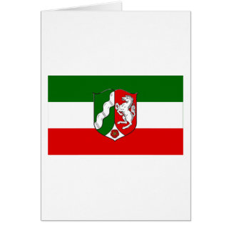 Nordrhein-Westfalen Flag Card