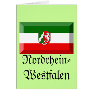 Nordrhein-Westfalen Flag Gem Cards