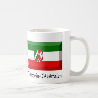 Nordrhein-Westfalen Flag Gem Coffee Mugs