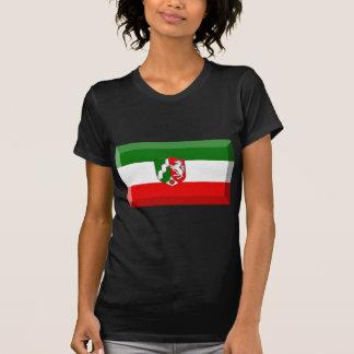 Nordrhein-Westfalen Flag Gem Tee Shirts