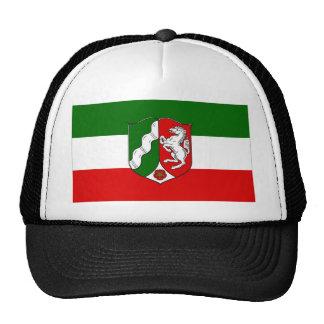 Nordrhein-Westfalen Flag Mesh Hats
