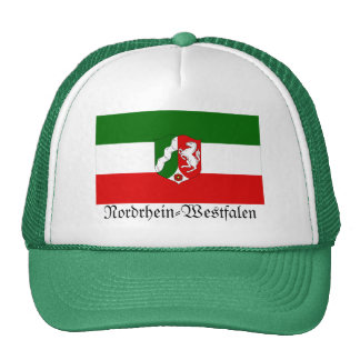 Nordrhein-Westfalen Flag Trucker Hats