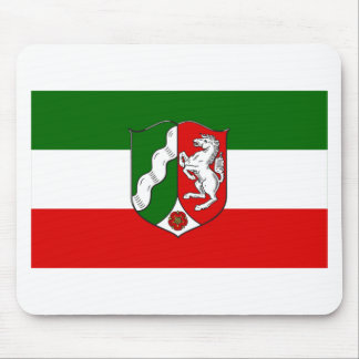 Nordrhein-Westfalen Flag Mouse Pad