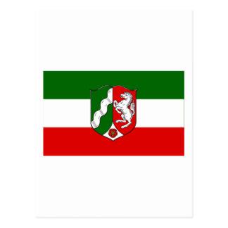 Nordrhein-Westfalen Flag Postcard