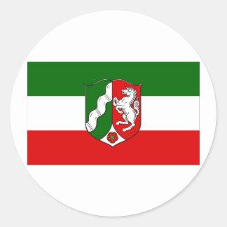 Nordrhein-Westfalen Flag Sticker