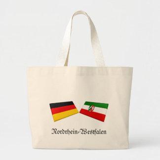 Nordrhein-Westfalen Germany Flag Tiles Bag