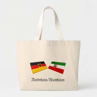 Nordrhein-Westfalen, Germany Flag Tiles Bags