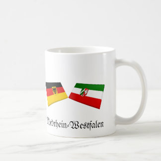 Nordrhein-Westfalen, Germany Flag Tiles Coffee Mug