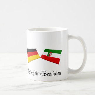 Nordrhein-Westfalen, Germany Flag Tiles Mug