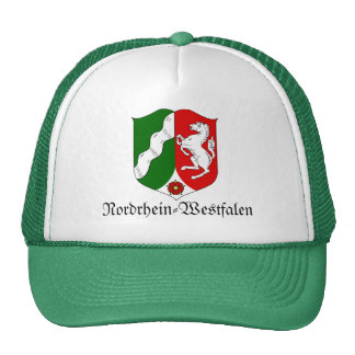 Nordrhein-Westfalen Wappen Coat of Arms Hats