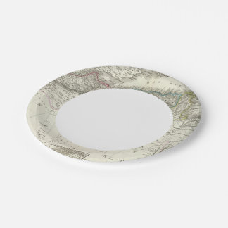 Nordwest Africa - Northwest Africa Paper Plate