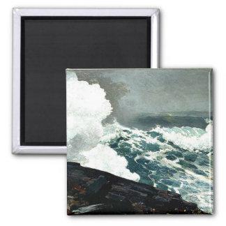 Noreaster - Winslow Homer artwork Magnets