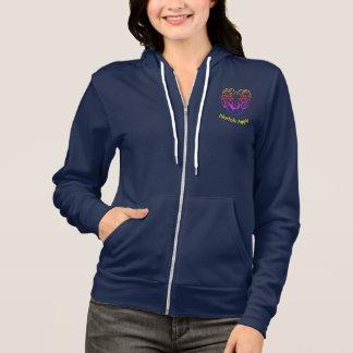 Norfolk Aggie Rams Rainbow Full-Zip Sweatshirt